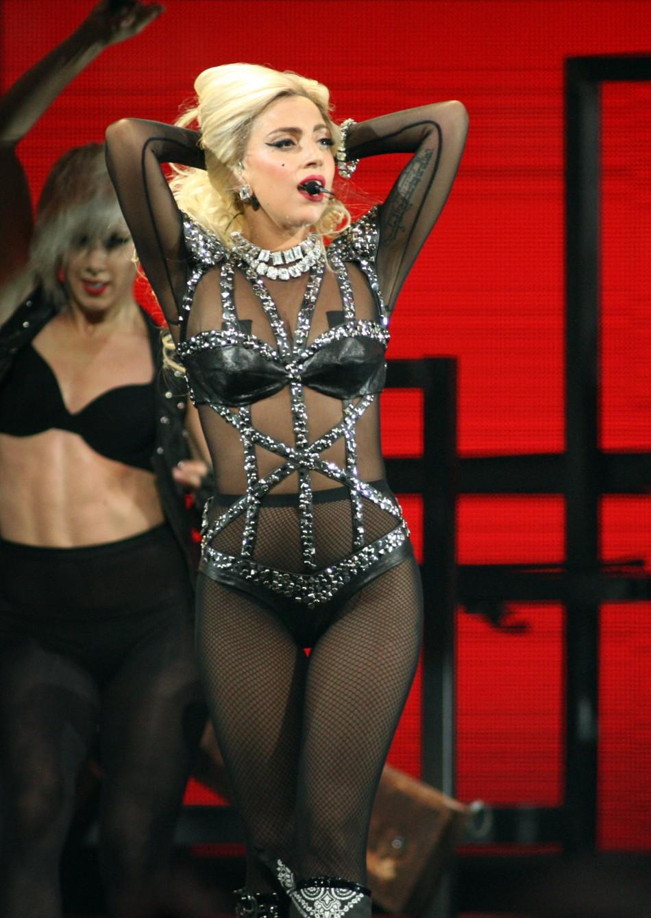 Lady Gaga iHeartRadio Music Festival MGM Grand Garden Arena Las Vegas