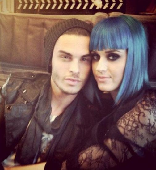 Katy Perry's new boyfriend Baptiste Giabiconi tweeted this photo of the couple