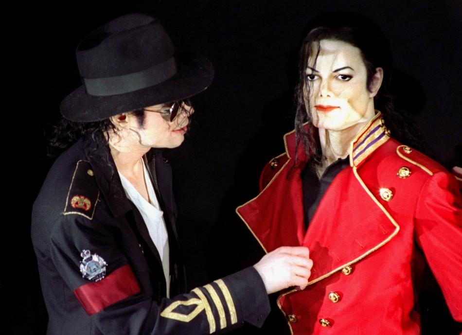 American pop star Michael Jackson