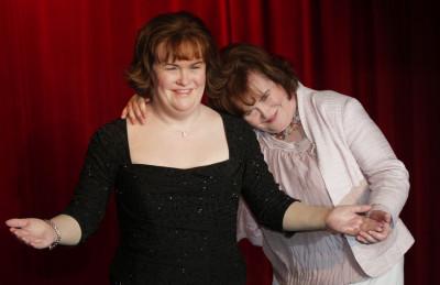 Scottish singer Susan Boyle