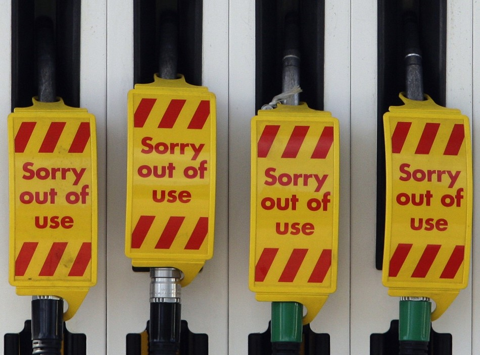 Fuel tanker drivers going on strike and public may start panic buying petrol