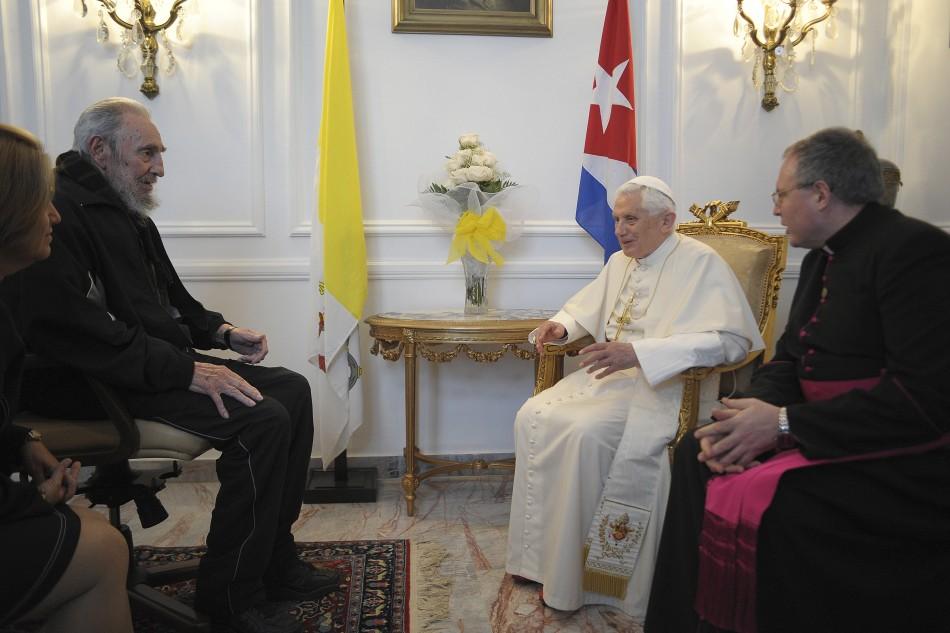Pope Benedict XVI Visits Cuba
