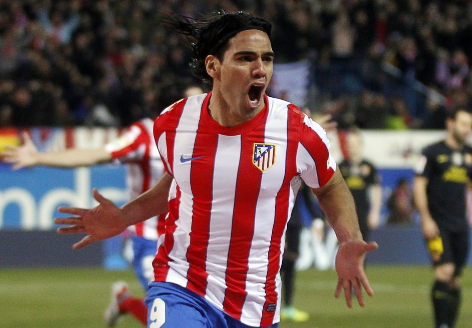 Colombian star striker Radamel Falcao