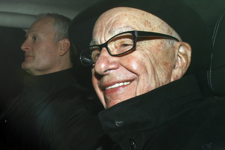 """Rupert Murdoch is promising to """"hit back hard"""" against allegations about his company News Corp"""