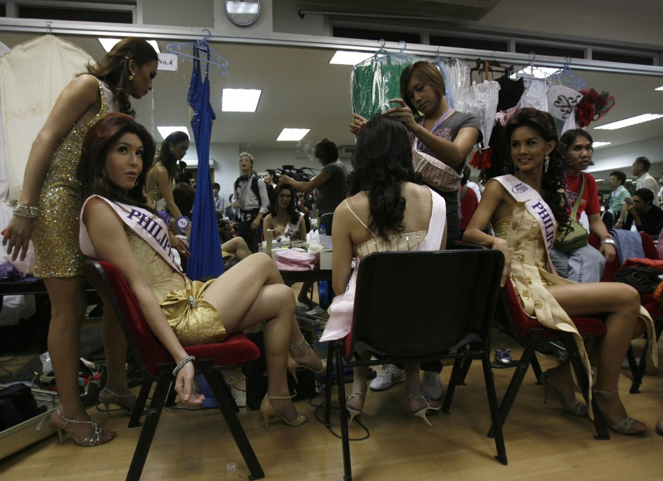 Transexual beauty pageant