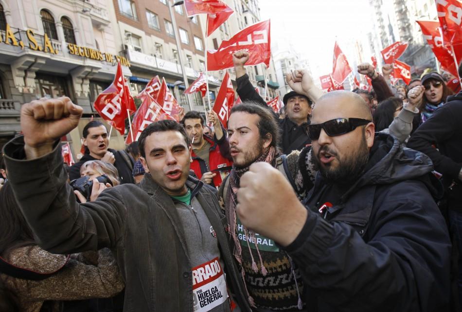Spain strikes