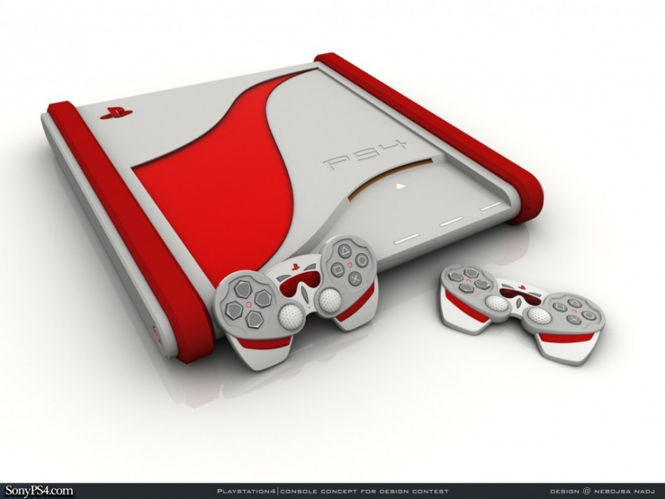 PlayStation 4 Concept Design