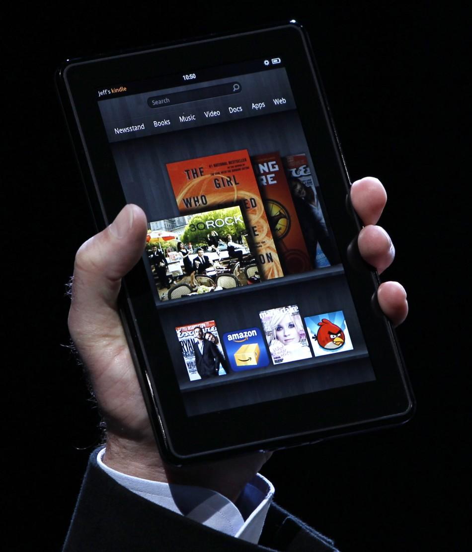 Amazon New Kindle Fire