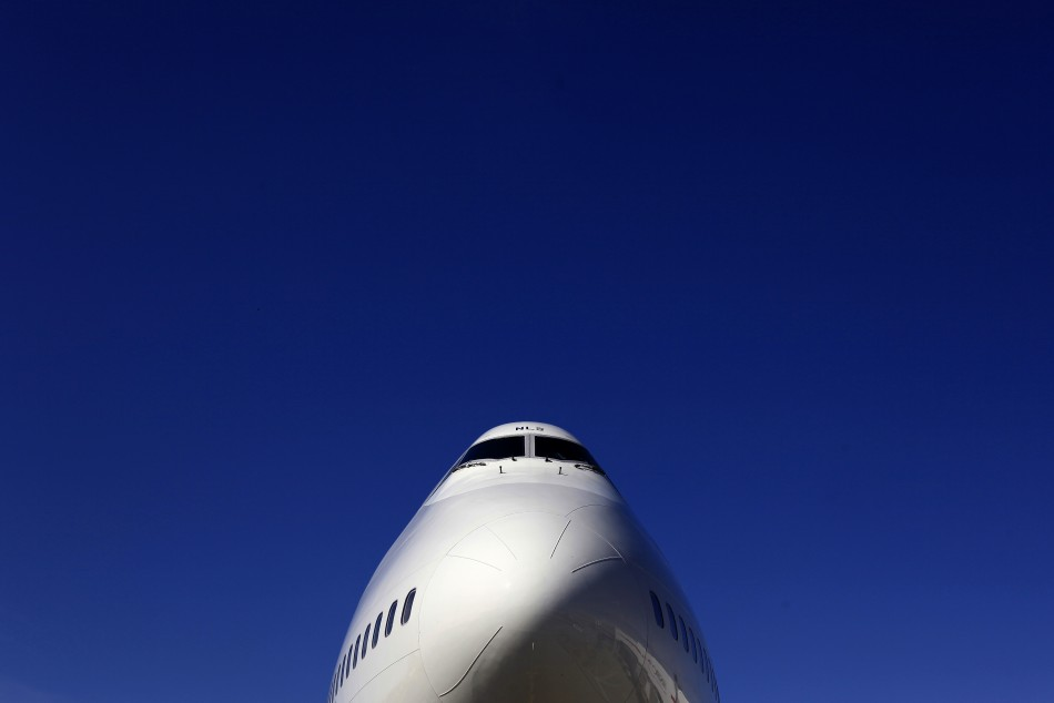 A British Airways Boeing 747 passenger aircraft is parked at Heathrow Airport in west London