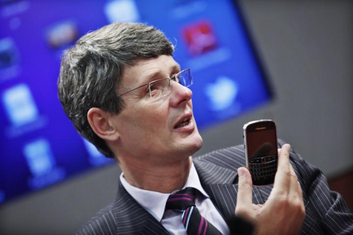 RIM CEO Thorstein Heins