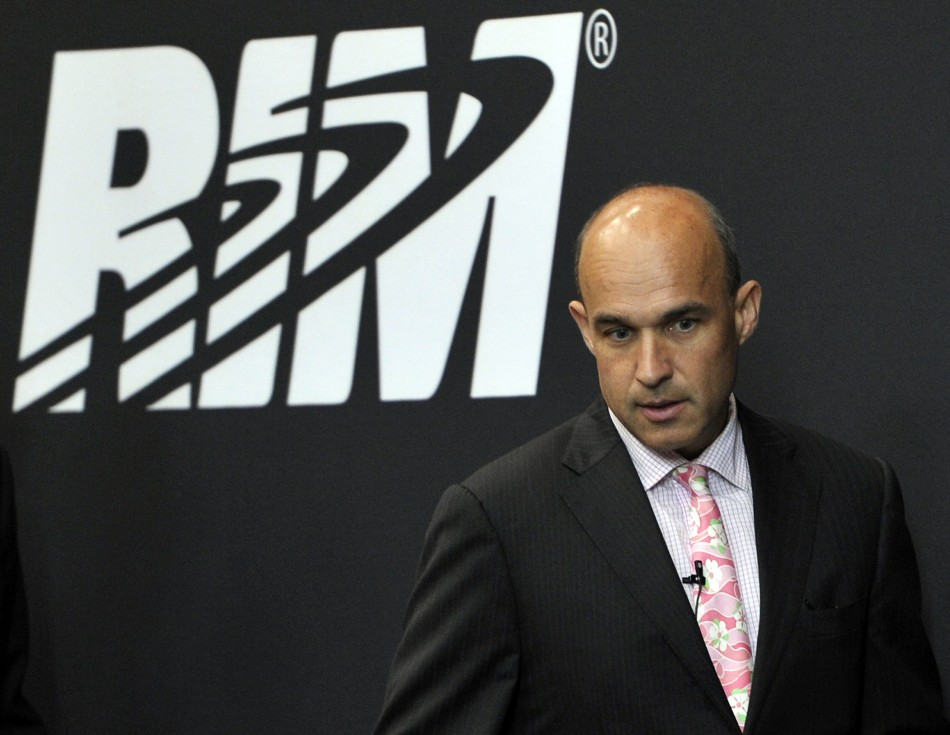 RIM foremer CEO Jim Balsillie