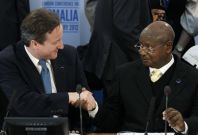 David Cameron Yoweri Museveni