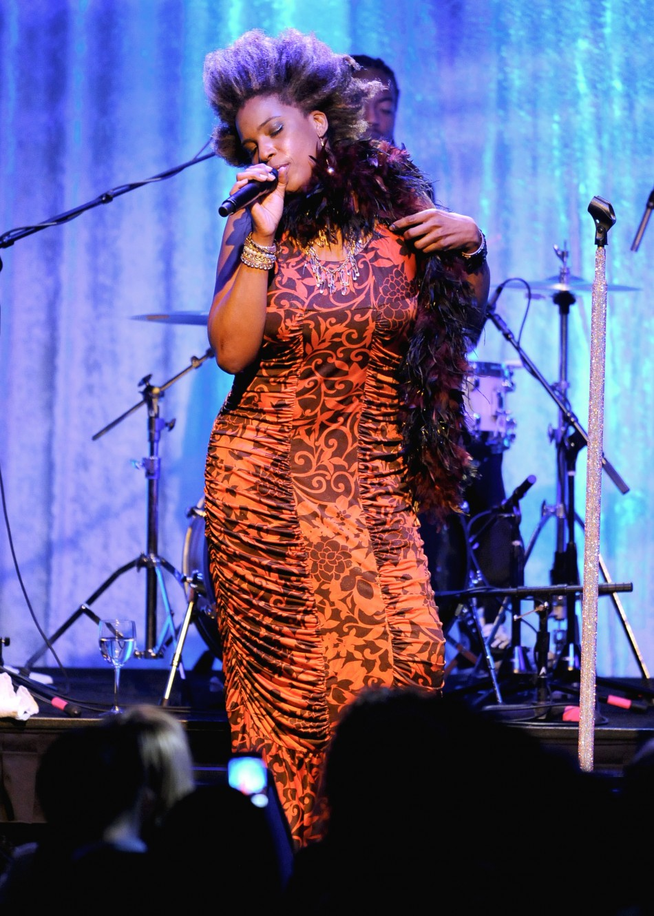 Singer Macy Gray performs at quotThe Advocate 45thquot celebrating the magazines 45 years of publication in Beverly Hills