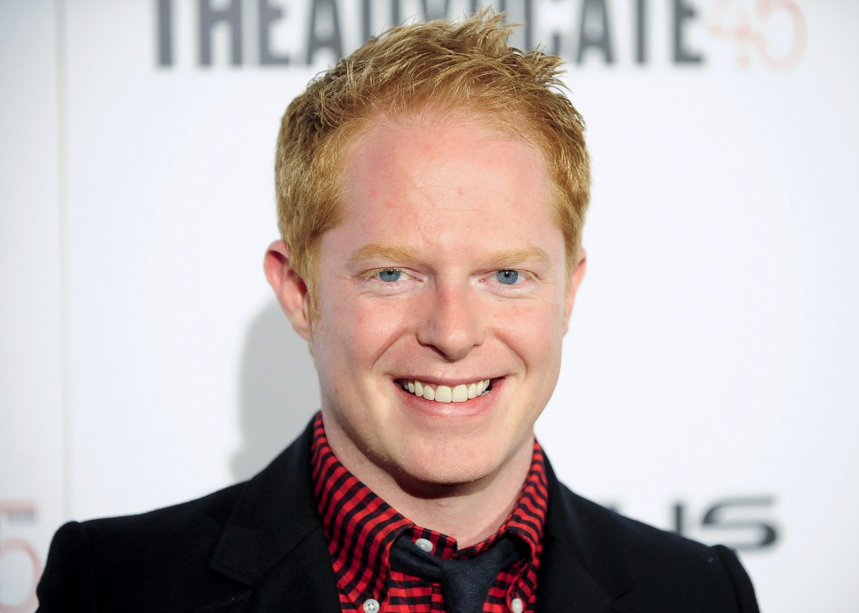 "Actor Jesse Tyler Ferguson arrives at ""The Advocate 45th"" celebrating the magazine's 45 years of publication in Beverly Hills"