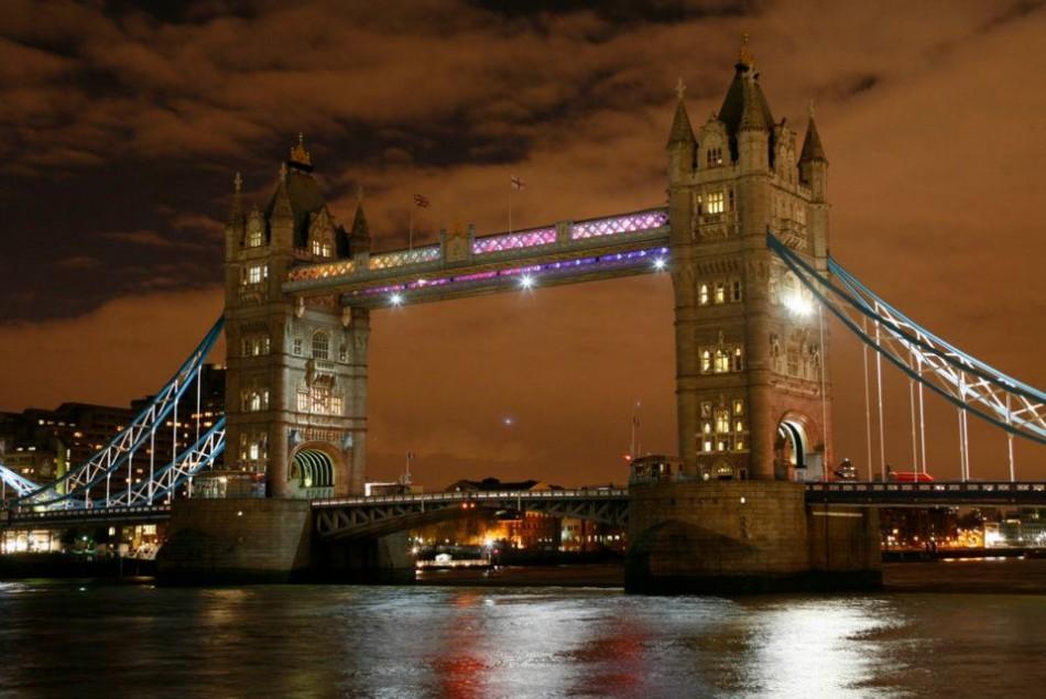Tower Bridge London, England.