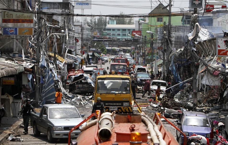 Thailand Explosions