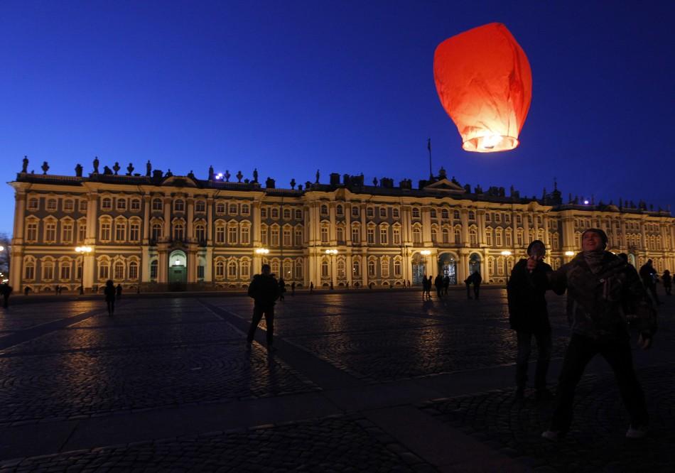 Earth Hour- St. Petersburg