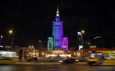 Earth Hour - Warsaw