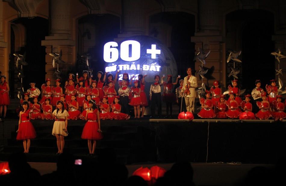 Earth Hour - Hanoi