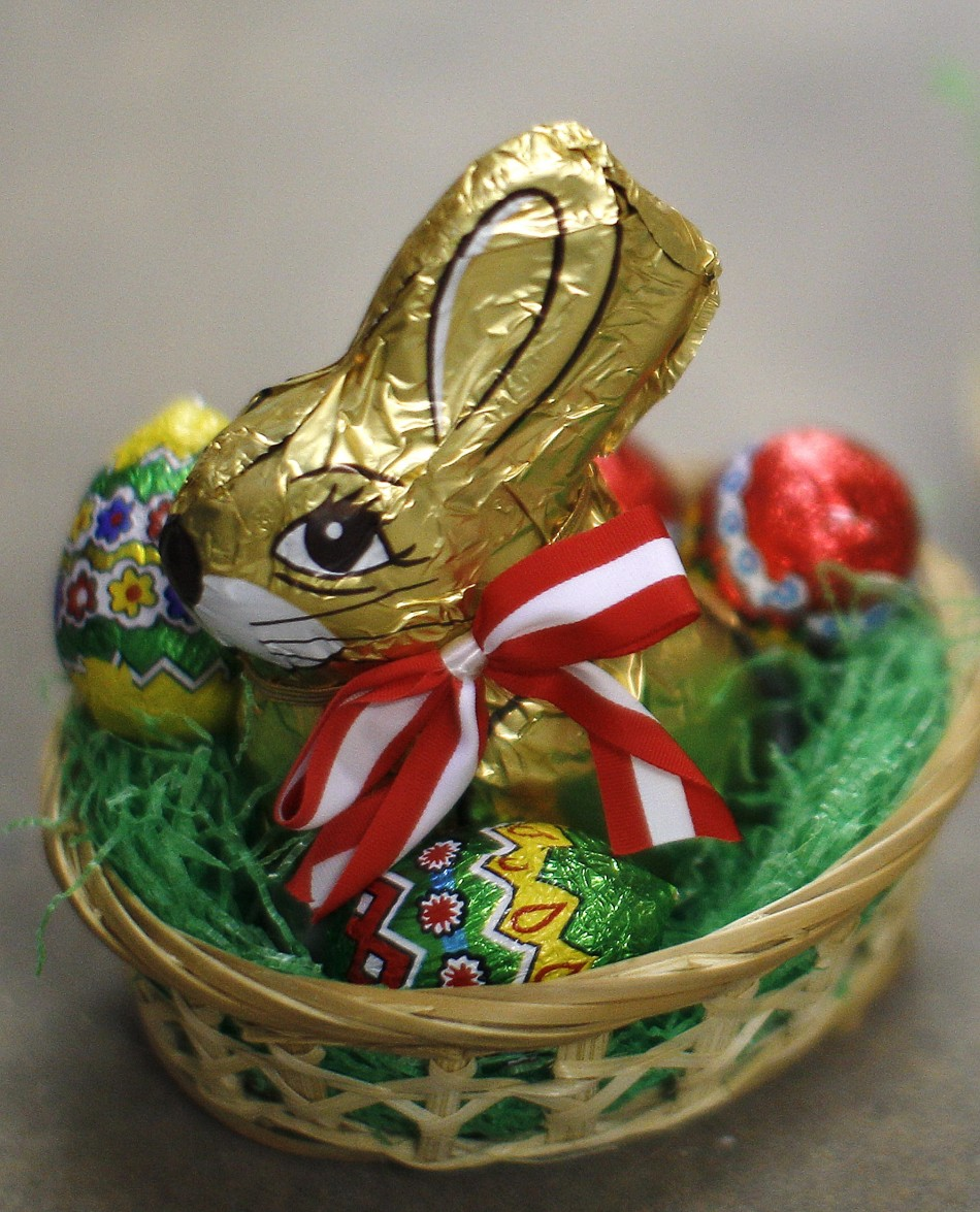 Goodbye easter bunny easter gift ideas for adults slideshow put all your eggs in one basket easter basket negle Image collections