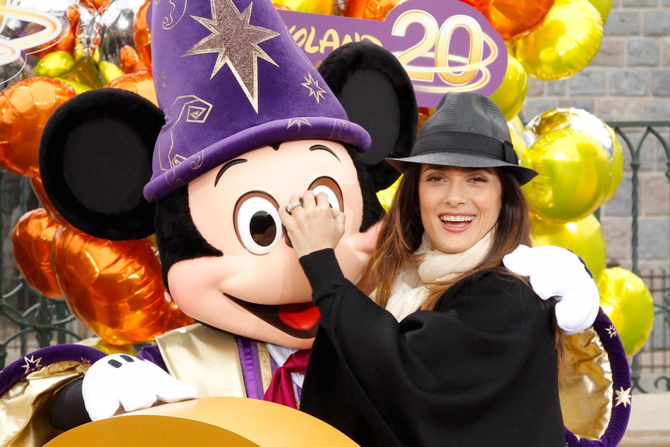From Salma Hayek to Katie Melua: Celebs at 20th Paris Disneyland Resort Anniversary Celebrations