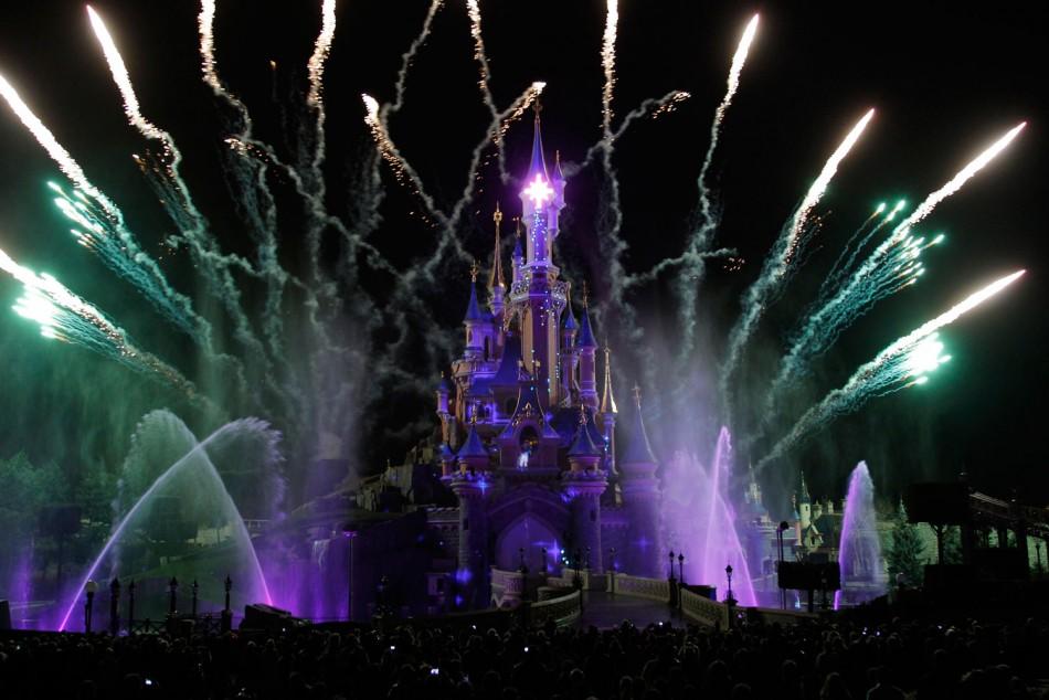 From Salma Hayek to Katie Melua: Celebs at 20th Paris Disneyland Resort Anniversary Celebrations