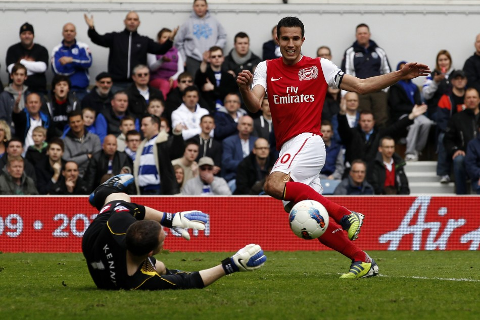 Soccer - Barclays Premier League - Queen Park Rangers v Arsenal - Loftus Road