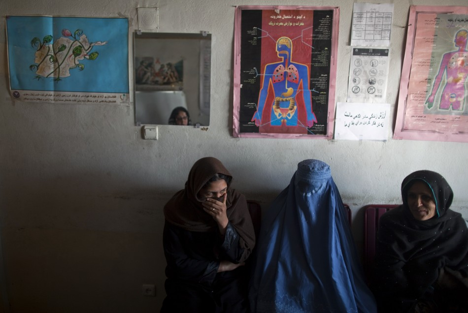 Drug addicts visit the Nejat drug rehabilitation centre, an organisation funded by the United Nations providing harm reduction and HIVAIDS awareness, in Kabul