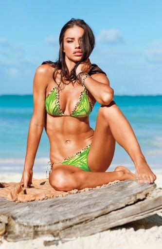 Adriana Lima photo shoot