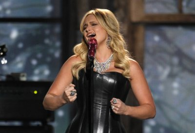 Miranda Lambert performs quotOver Youquot at the 47th annual Academy of Country Music Awards in Las Vegas