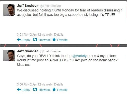 Tweet by Jeff Sneider