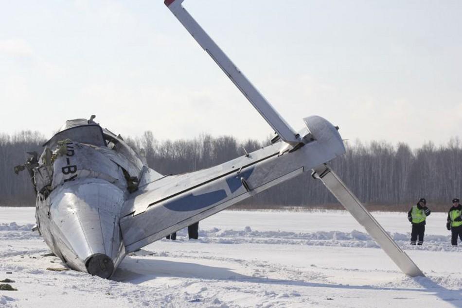 Siberia plane crash