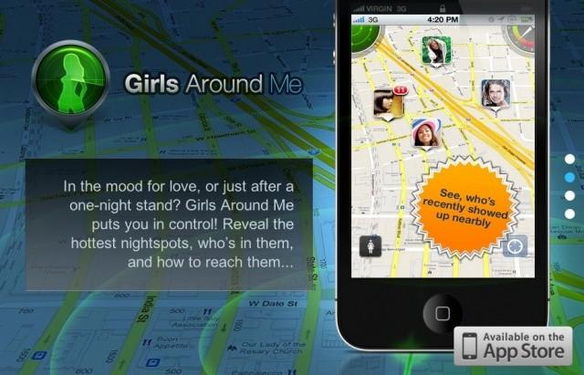 Girls Around Me - Creepy Geo-Location App