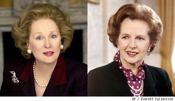 Meryl Streep as Margaret Thatcher