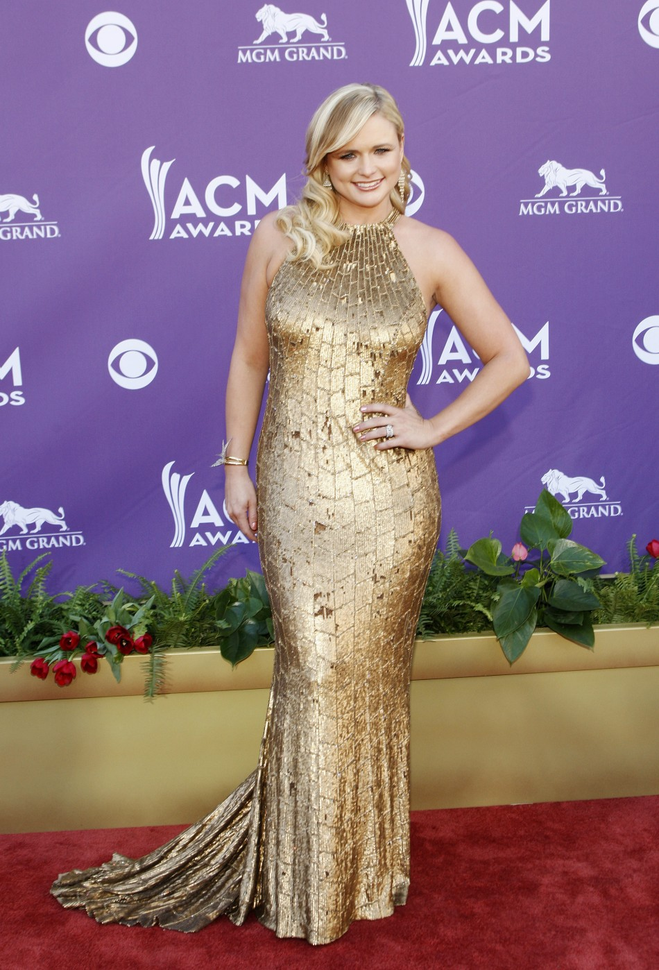 Singer Miranda Lambert was voted ninth most beautiful woman of 2012 by People magazine