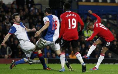 Blackburn v Manchester United