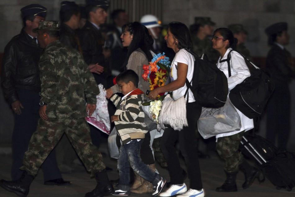 Columbia Hostage Release