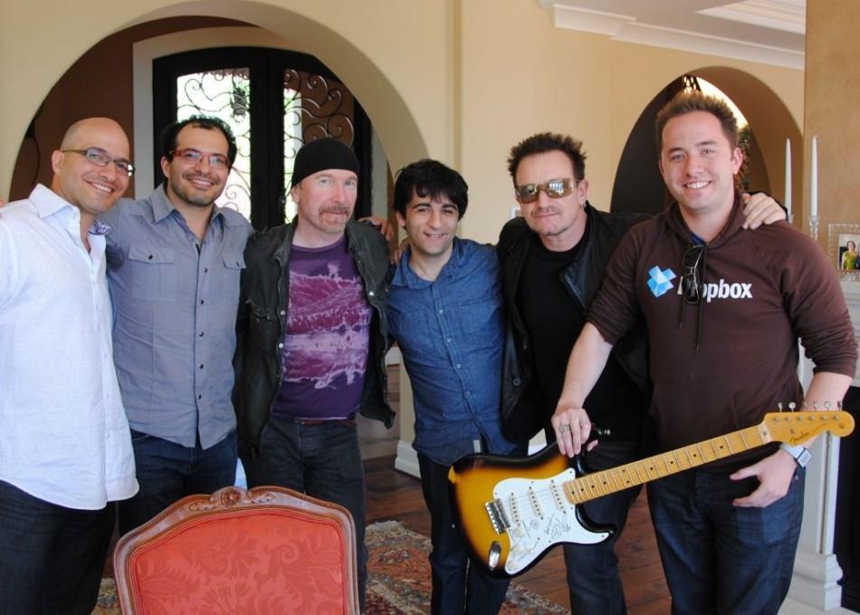 Bono and Dropbox
