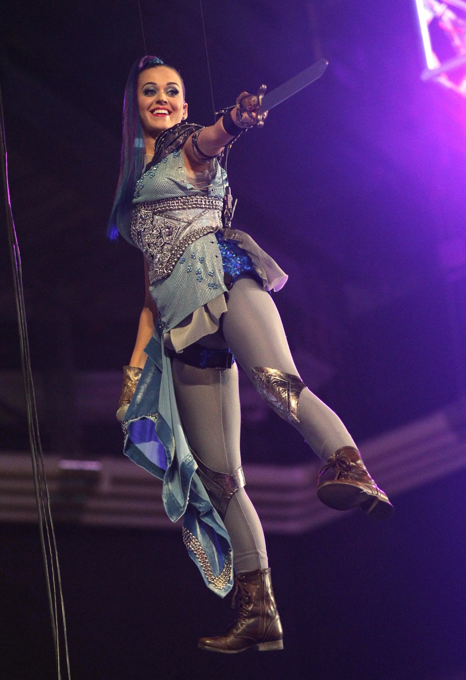 Singer Katy Perry performs at Nickelodeon039s 25th annual Kids039 Choice Awards in Los Angeles