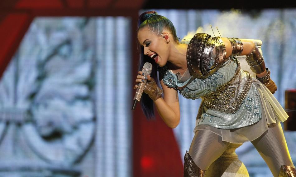 Katy Perry at the Nickelodeon Kids039 Choice Awards