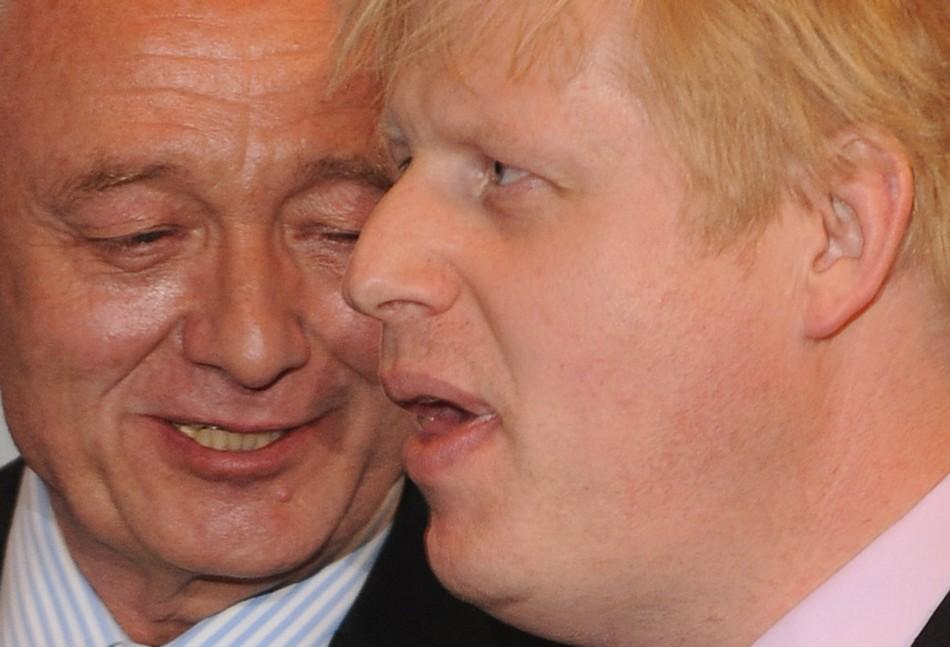 Boris Johnson Ken Livingstone