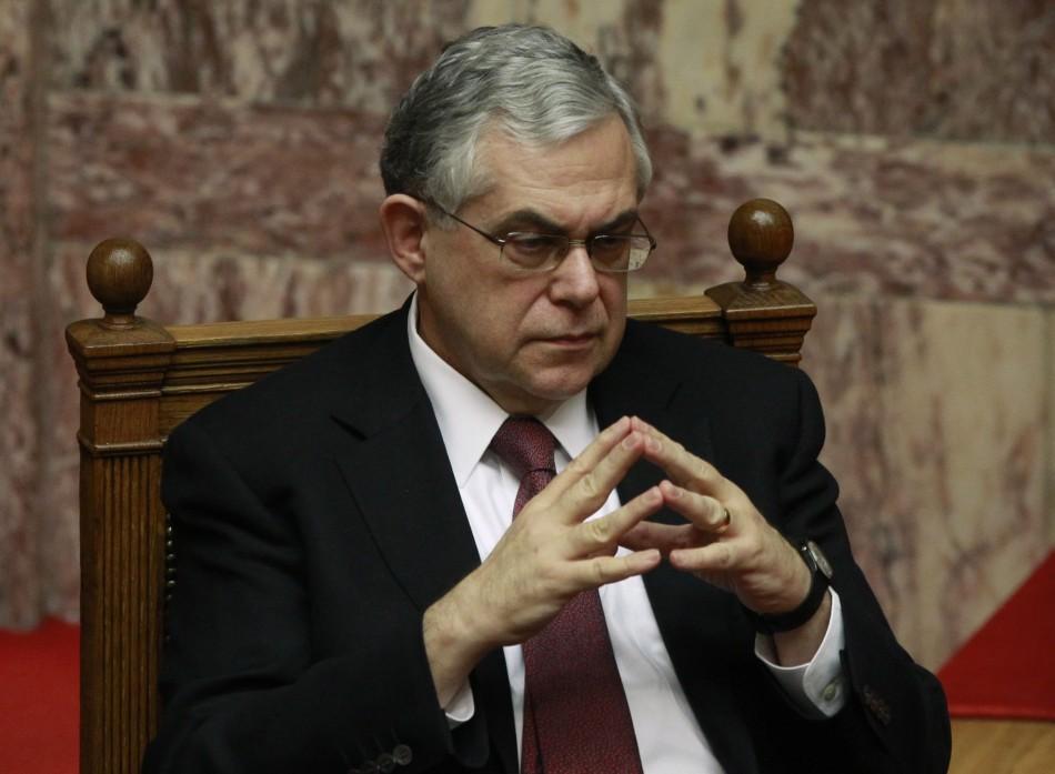 Lucas Papademos, Greek Prime Minister