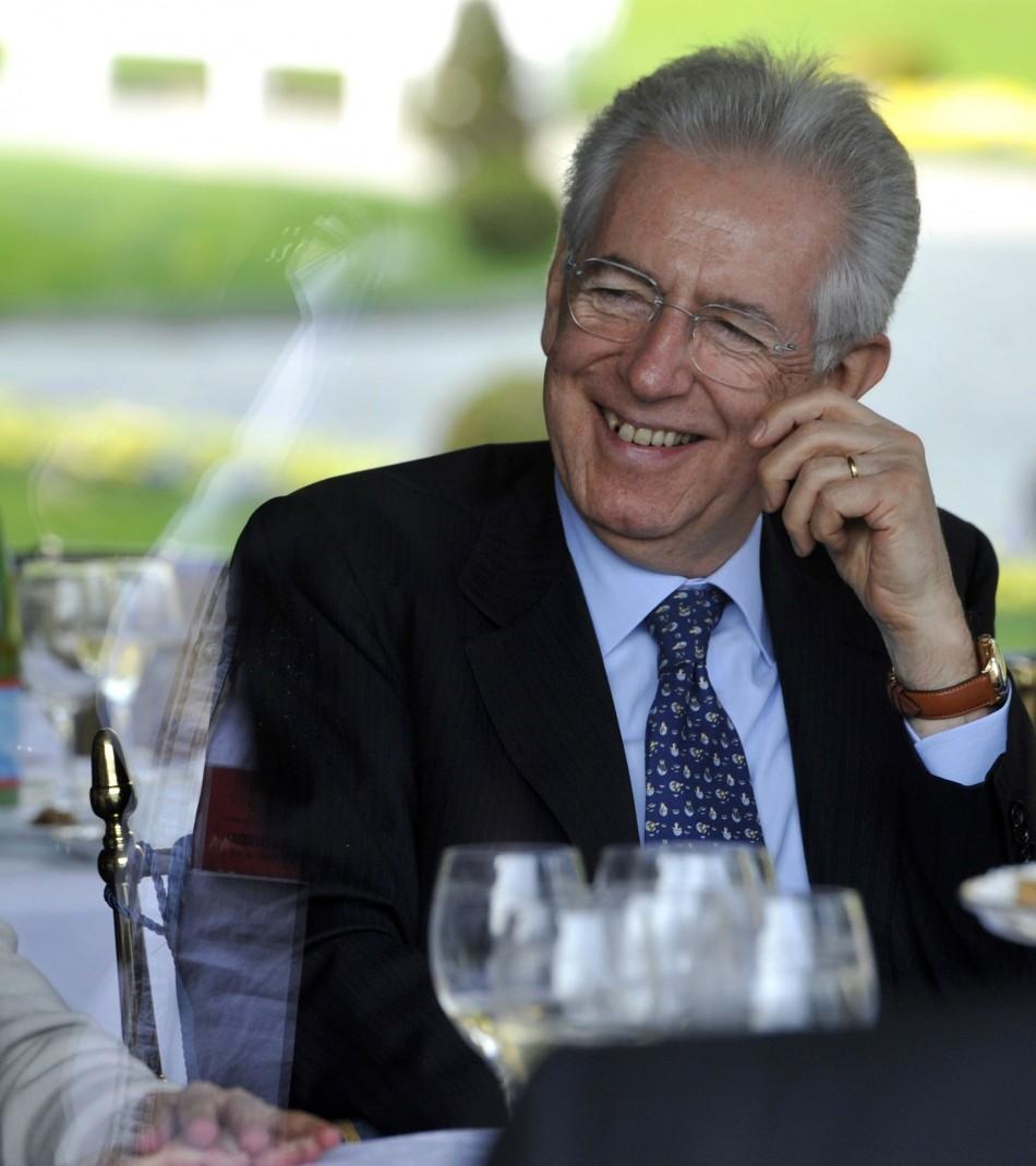 Mario Monti, Italy's Prime Minister
