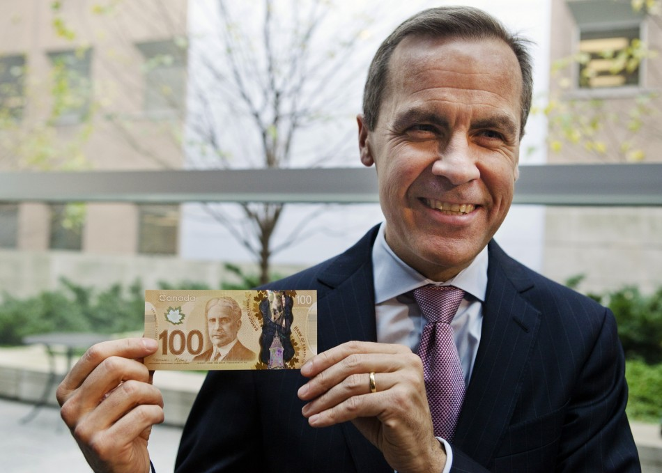 Mark Carney, Governor of the Bank of Canada