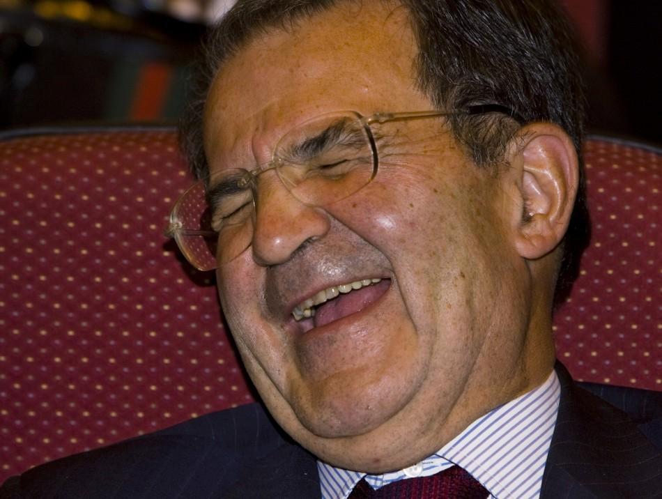 Romano Prodi, former Italian Prime Minister and European Commission President