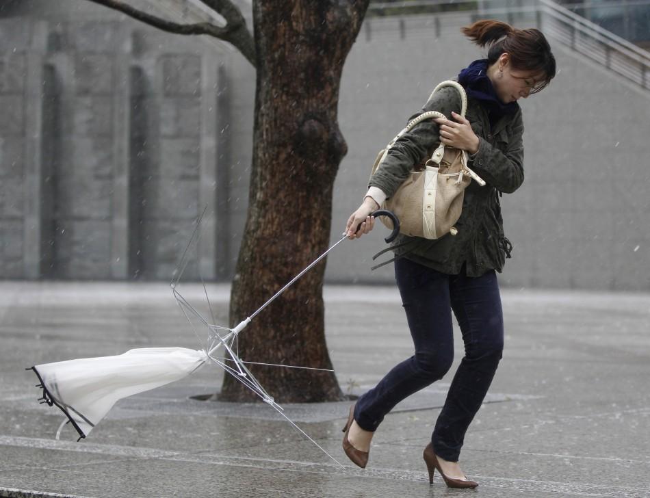Deadly Storm Kills Four In Japan Disrupts Flights
