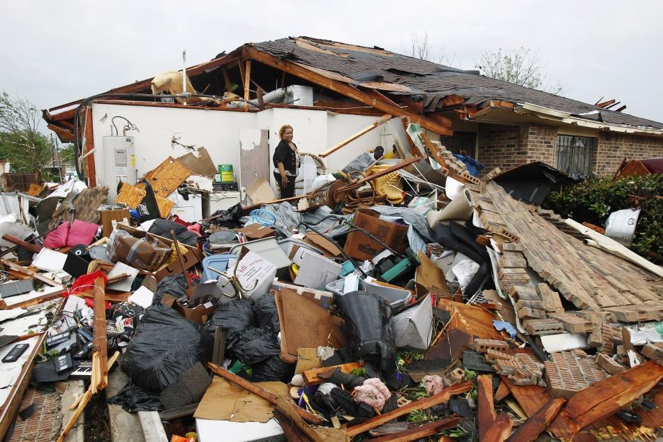 Tornado Hits Texas