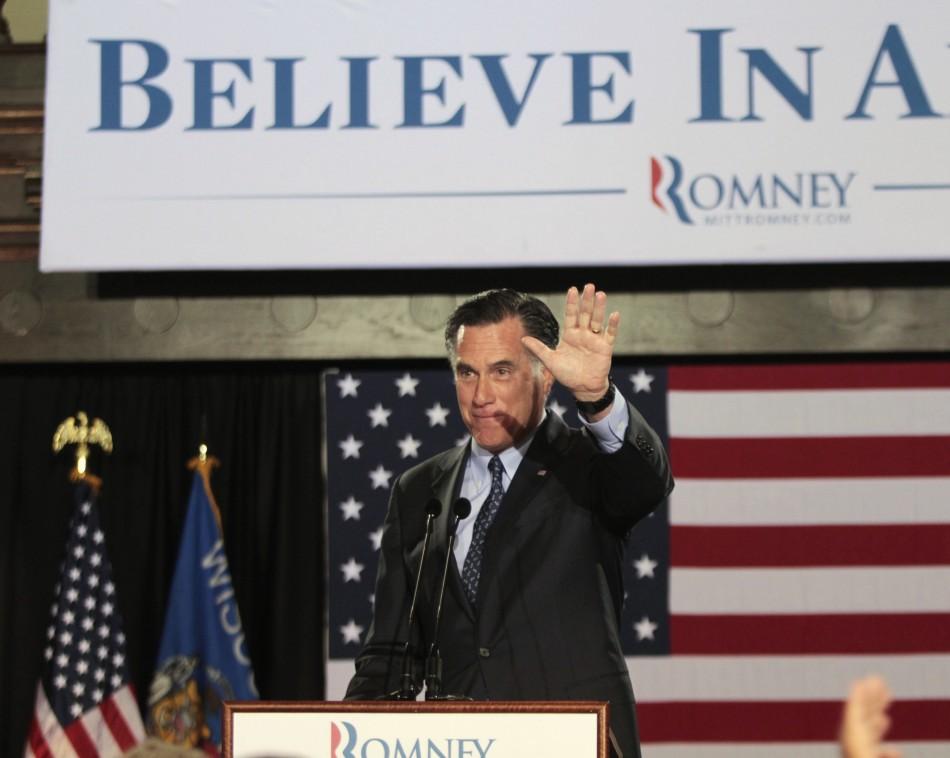 Mitt Romney Scores Hat-trick Win