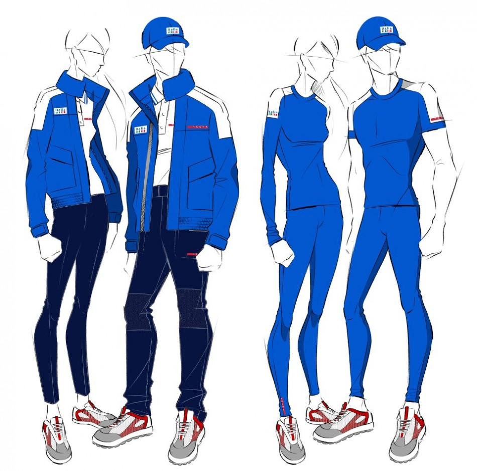 London 2012 Olympics: Prada to Style Italian National Sailing Team
