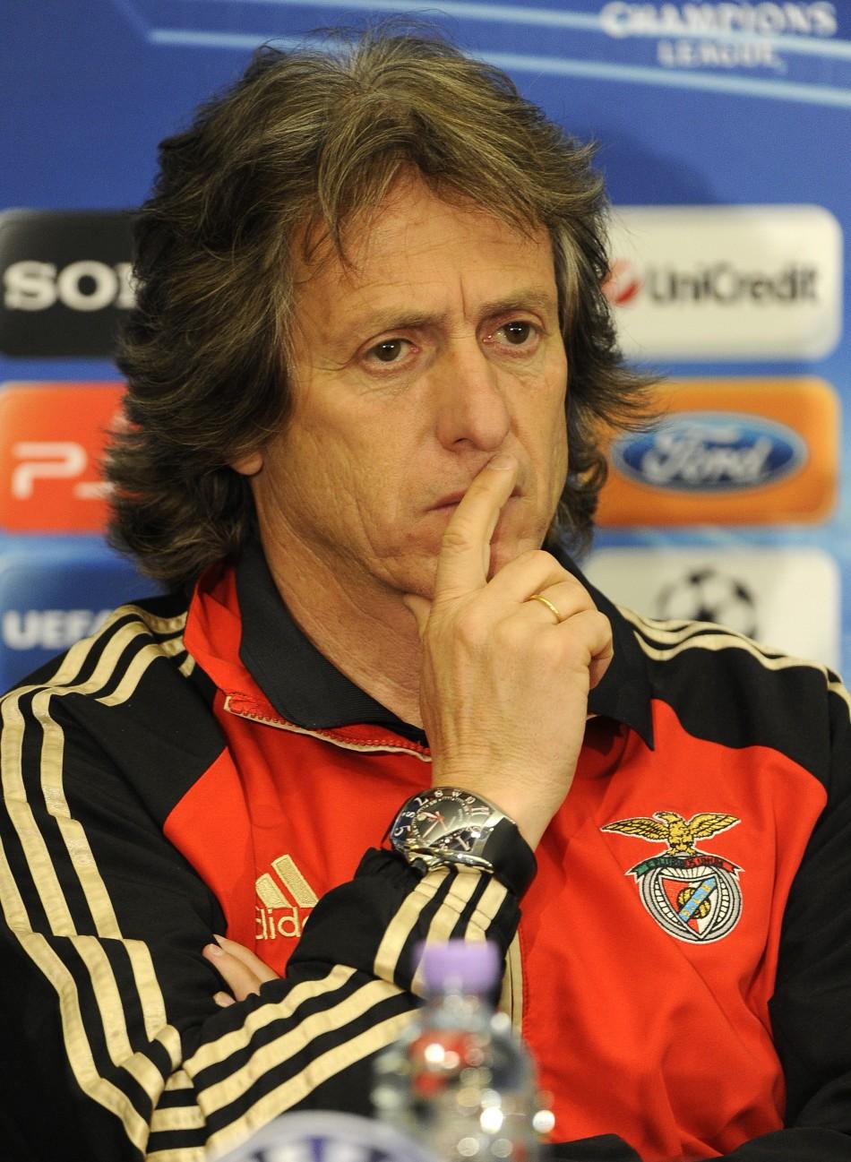 Benfica Manager Jorge Jesus